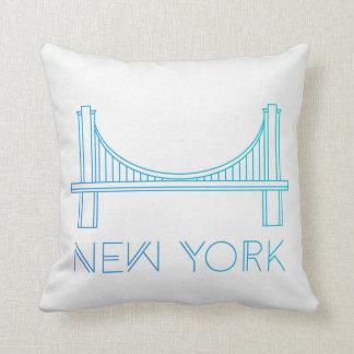 Brooklyn Bridge | New York City Throw Pillow