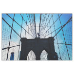 Brooklyn Bridge, New York Fabric