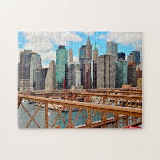 Brooklyn Bridge New York. Jigsaw Puzzle