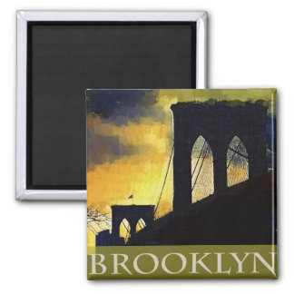 Brooklyn Bridge, New York Magnet