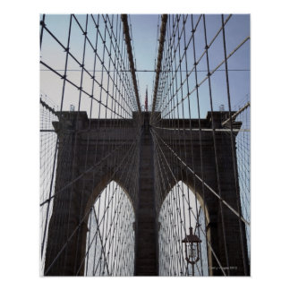 Brooklyn Bridge, New York, NY, USA 2 Poster