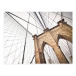 Brooklyn Bridge, New York Postcard