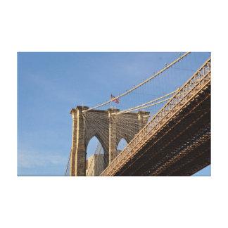 Brooklyn Bridge New York wallart Canvas Print