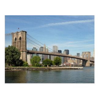 Brooklyn Bridge, NYC Postcard
