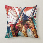 Brooklyn Bridge - NYC Throw Pillow