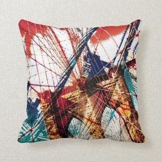 Brooklyn Bridge - NYC Throw Pillow