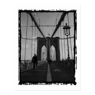 Brooklyn Bridge Photo Postcard
