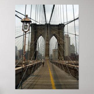 Brooklyn Bridge Photographic Image Poster