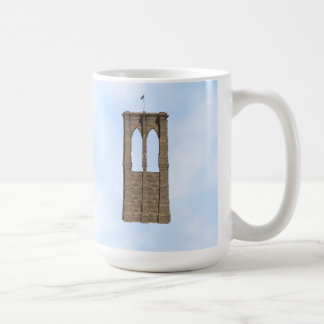 Brooklyn Bridge Pillar: 3D Model: Coffee Mug