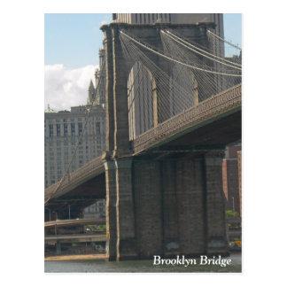 Brooklyn Bridge Postcard