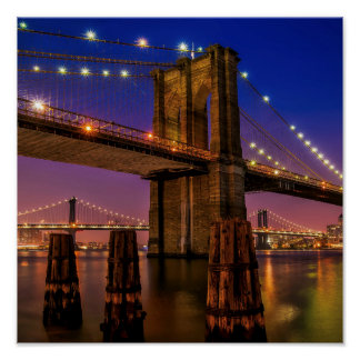 Brooklyn Bridge -- Poster