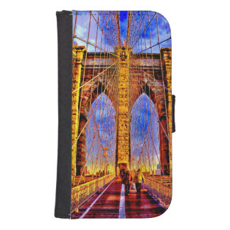 brooklyn-bridge samsung s4 wallet case