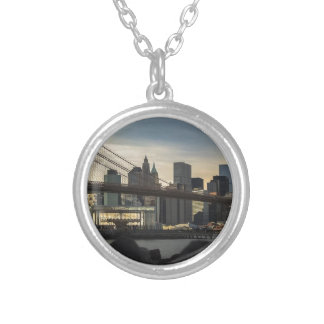 Brooklyn Bridge Silver Plated Necklace
