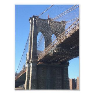 Brooklyn Bridge Sky New York City NYC Photography Photo Print