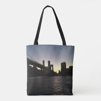 Brooklyn Bridge Sunset Tote
