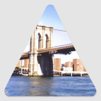 Brooklyn Bridge Triangle Sticker