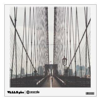 brooklyn bridge wall sticker
