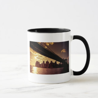 Brooklyn Bridge With New York City Skyscrapers Mug