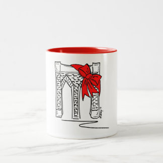 Brooklyn Christmas New York City NYC Xmas Mug