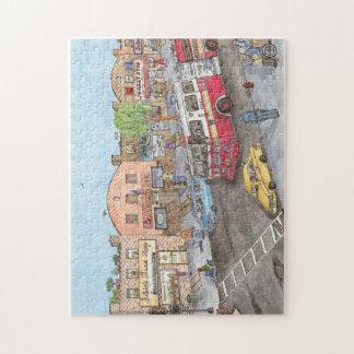 Brooklyn fire truck jigsaw puzzle