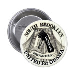 Brooklyn for Obama 2012 2 Inch Round Button