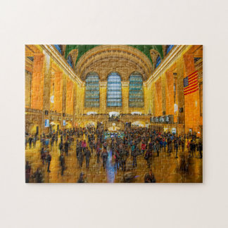 Brooklyn Grand Central Station. Jigsaw Puzzle