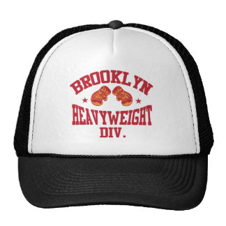 Brooklyn Heavyweight Division Red Mesh Hat