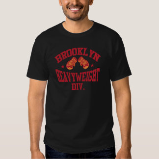 Brooklyn Heavyweight Division Red T-shirt