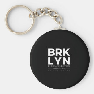 brooklyn keychain