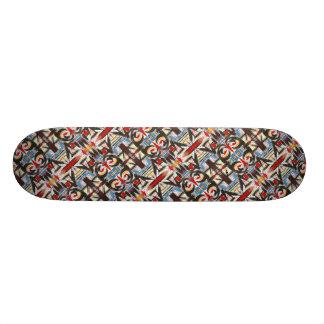 Brooklyn-Modern Brushstrokes Pattern Skateboard Deck