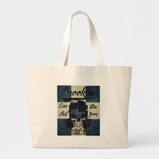 Brooklyn Motorcycle Club Large Tote Bag