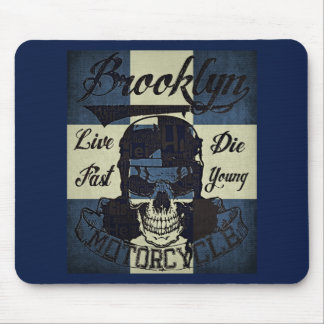 Brooklyn Motorcycle Club Mouse Pad