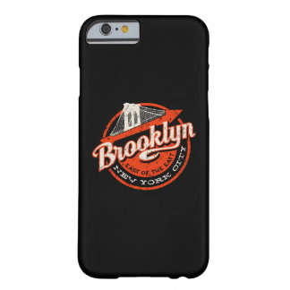 Brooklyn New York City   Retro Typography Barely There iPhone 6 Case