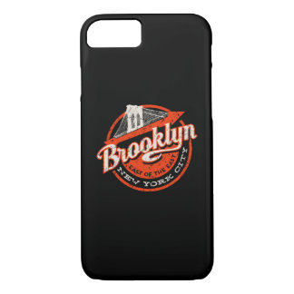 Brooklyn New York City | Retro Typography iPhone 8/7 Case