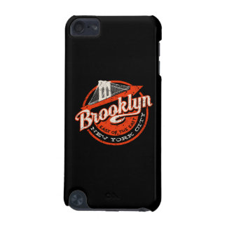 Brooklyn New York City | Retro Typography iPod Touch 5G Case