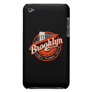 Brooklyn New York City | Retro Typography iPod Touch Case-Mate Case