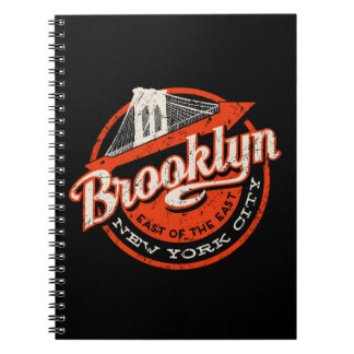 Brooklyn New York City | Retro Typography Notebooks