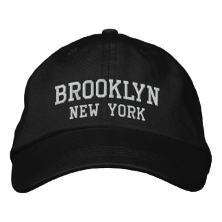 Brooklyn New York Embroidery Embroidered Hat