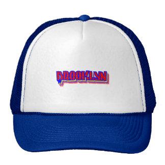 Brooklyn New York Graffiti Trucker Hat, Cap Trucker Hat