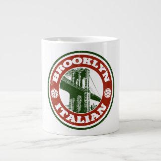 Brooklyn New York Italians Giant Coffee Mug