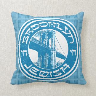 Brooklyn New York Jewish Cushion
