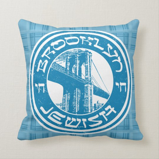 Brooklyn New York Jewish Cushion