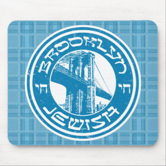 Brooklyn New York Jewish Mousemat Mouse Pad