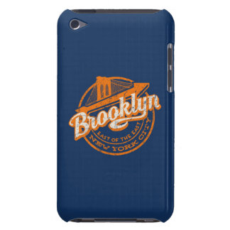 Brooklyn, New York | Retro Vintage Typography iPod Case-Mate Case