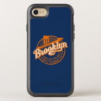 Brooklyn, New York | Retro Vintage Typography OtterBox Symmetry iPhone 8/7 Case