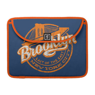 Brooklyn, New York | Retro Vintage Typography Sleeve For MacBook Pro