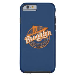 Brooklyn, New York | Retro Vintage Typography Tough iPhone 6 Case