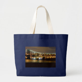Brooklyn New York Wedding Design Large Tote Bag