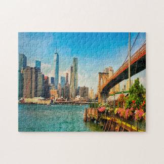 Brooklyn Skyline. Jigsaw Puzzle