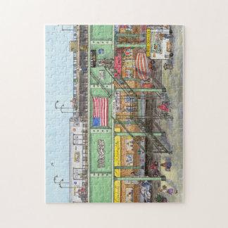 Brooklyn subway jigsaw puzzle